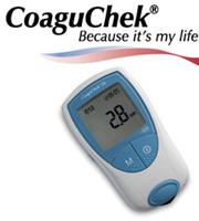 CoaguCheck PT/INR monitor